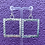 Thumbnail: Rippled Square Hoops  (Large, MADE TO ORDER)