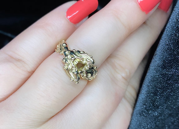 """GOLD """"Mermaid Delight"""" ring (MADE TO ORDER)"""