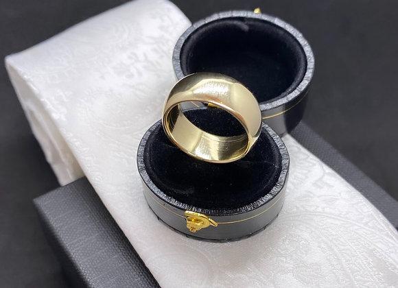 GOLD Soft Curve Band (7.5 mm x 2 mm)