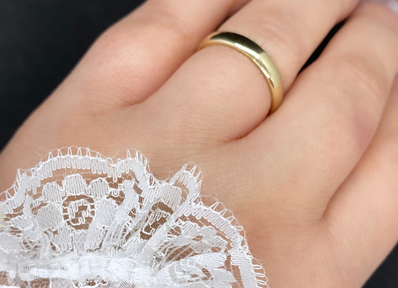 GOLD Soft Curve Band (3.5 mm x 1.2 mm)