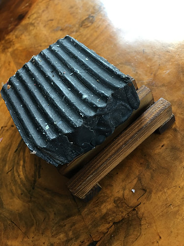 Mt Macedon Beauty Body Hand Made Vegan Soap- Activated Charcoal