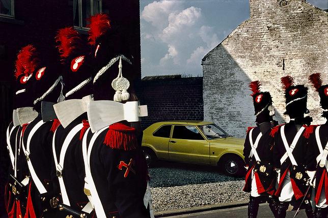 Commémoration de la bataille de Waterloo © Harry Gruyaert/Magnum Photos