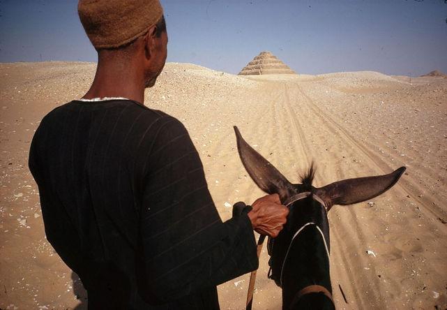René-Burri-Égypte-Saquara-près-du-Caire-