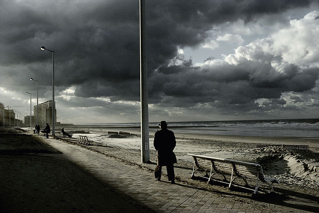 Belgique, Ostend, 1988 © Harry Gruyaert/Magnum Photos