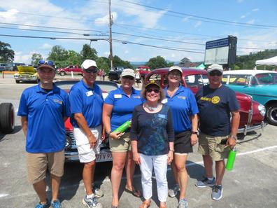 Lakes Region Rotary Car Show 2018