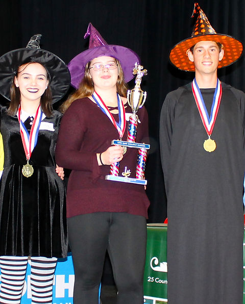 215 Karen Switzer, Paulette Loughlin, The Winners LHS We Put a Spell on You Amber Patten,Isabella Lo