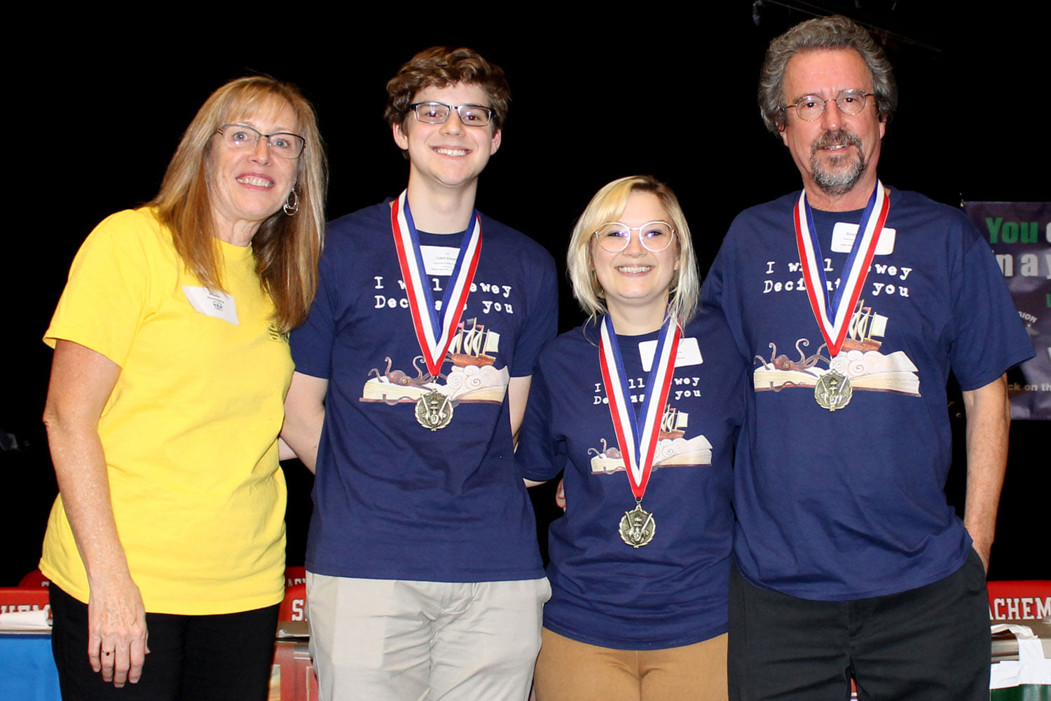 2019 Spelling Bee 1st Place Team