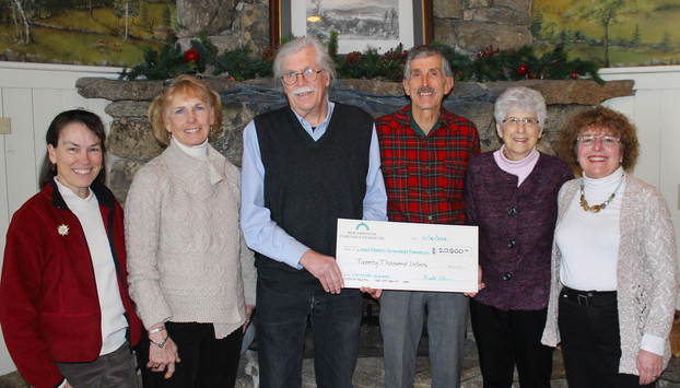 Receiving Check from NHCF