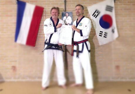 High five tang soo do koreaans karate leeuwarden zelfverzekerd