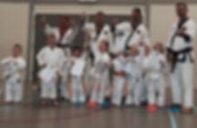 Karate kid Tang Soo Do Techum in4sport high five
