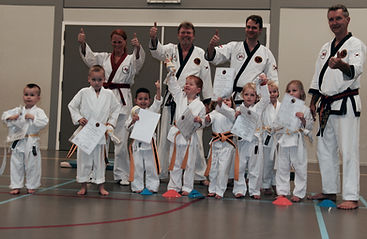 Karate kid Tang Soo Do Techum in4sport high five