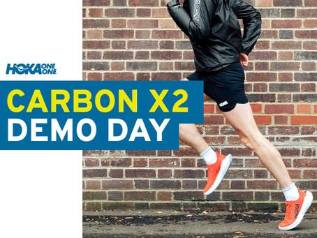 Hoka Carbon X 2 Race-Ready Road Shoe Demo Day at Stafford Runner.
