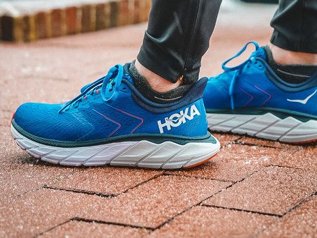 Hoka One One Arahi 5 Road Shoe now available at Stafford Runner.