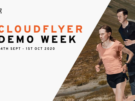 On Running Cloudflyer Demo Week at Stafford Runner