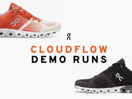 On Running Cloudflow Demo Runs at Stafford Runner.