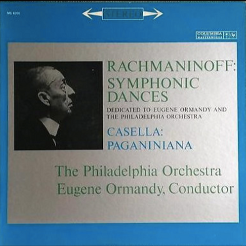 Rachmaninoff, Alfredo Casella, The Philadelphia Orchestra, Eu
