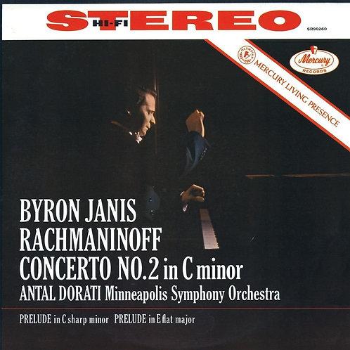 Byron Janis / Rachmaninoff Concierto No. 2 in C minor