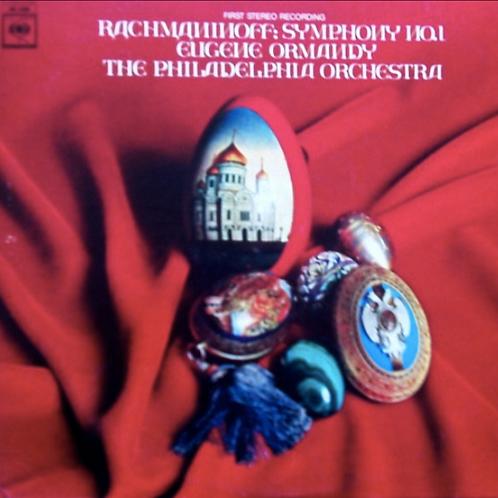 Rachmaninoff* - Eugene Ormandy, The Philadelphia Orchestra – Symphony No. 1 In