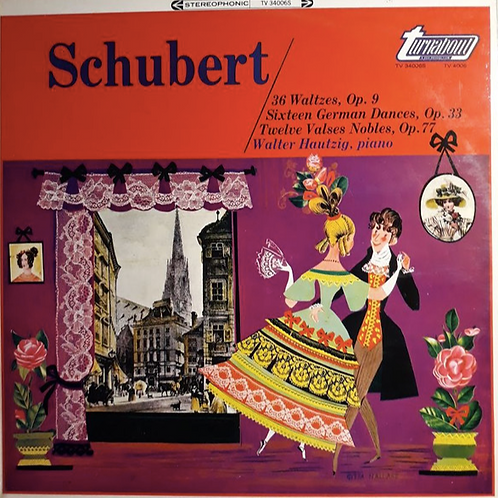 Schubert* - Walter Hautzig ‎– 36 Waltzes, Op. 9 • Sixteen German Dances, Op. 33