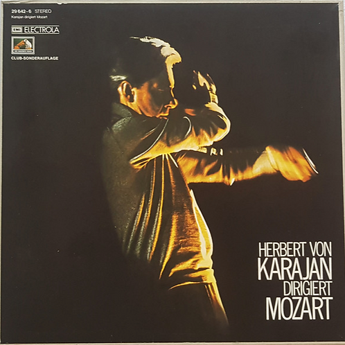 Herbert Von Karajan / Mozart Symphonies No 40 K550 No 41 K551