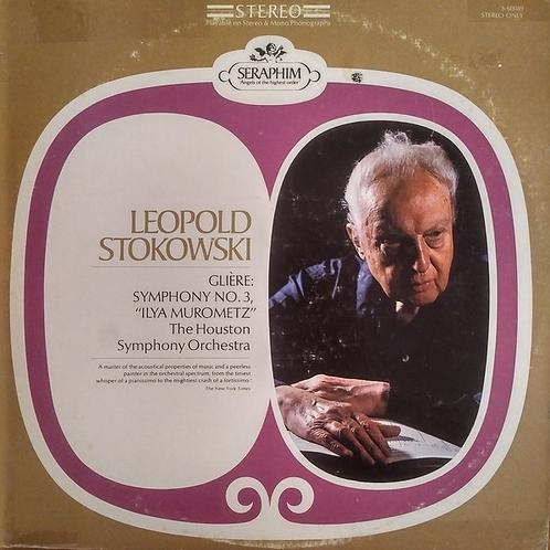 Glière*, Leopold Stokowski, Houston Symphony Orchestra – Ilya Murometz (Symphon