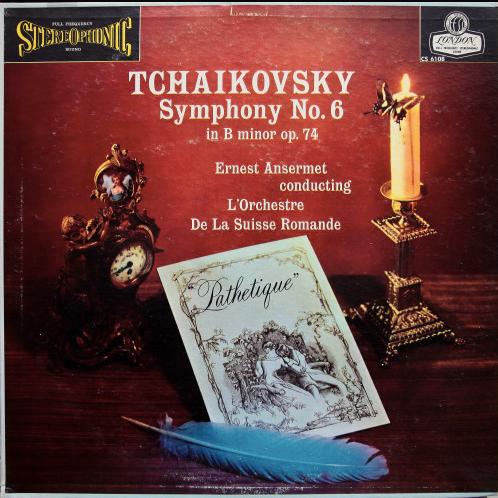 Tchaikovsky*, Ernest Ansermet Conducting L'Orchestre De La Suisse Romande – Sym
