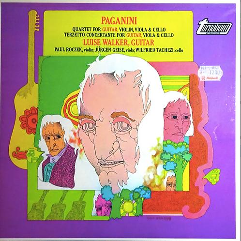 Paganini*, Luise Walker – Quartet For Guitar, Violin, Viola & Cello / Terzetto