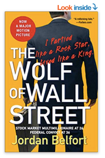 The Wolf of Wall Street Paperback