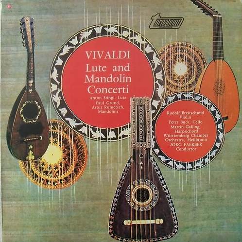 Vivaldi*, Jörg Faerber – Lute And Mandolin Concerti