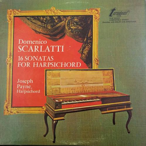Domenico Scarlatti, Joseph Payne – 16 Sonatas For Harpsichord