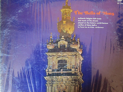 The Bells Of Mons - A Musical Journey Through Belgium - LP