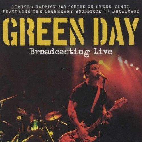 Woodstock ´94 Broadcast Limited edition coloured vinyl / Green Day