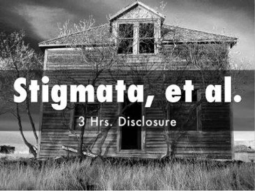 STIGMATA, ET.AL