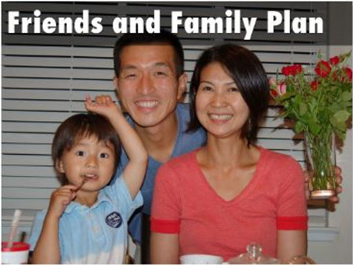 FRIENDS AND FAMILY PLAN