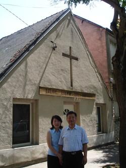 Pasteur et son épouse