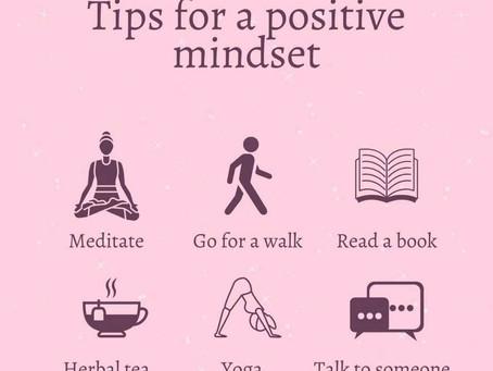 Tips for a positive mindset