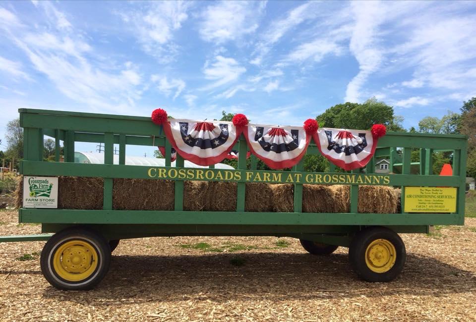 Crossroads Farm Hay Wagon