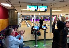 Bowling w/ merchants!