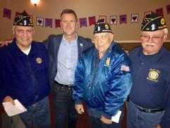 Tim w/ Local Veterans