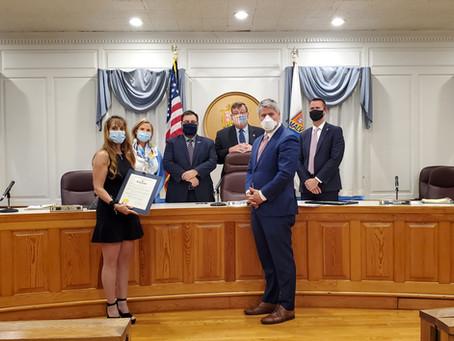 Honoring the Malverne Civic Association