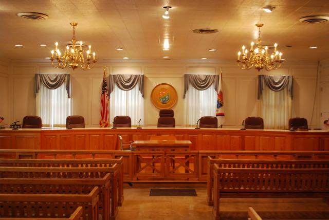 Village Hall - Court Room