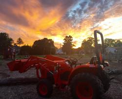 Crossoads Farm @ Sunset