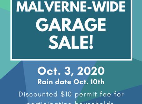 Malverne-Wide Garage Sale