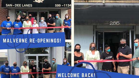 Re-Opening Malverne