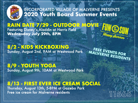 Upcoming Events for Kids!
