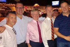 Candidate Tim Sullivan & friends @ The Brick
