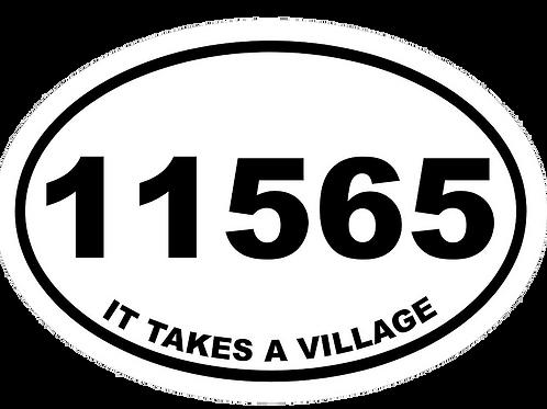 Car Magnet - 11565 - It takes a village
