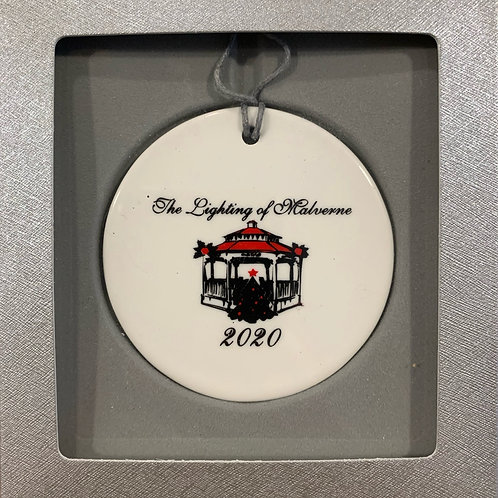 First Ever Lighting of Malverne Ornament - On Sale!