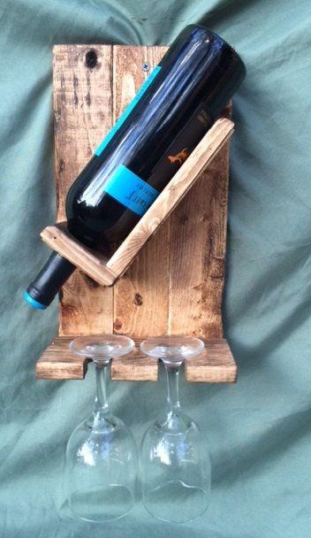 Porta Vinho 2 cálices