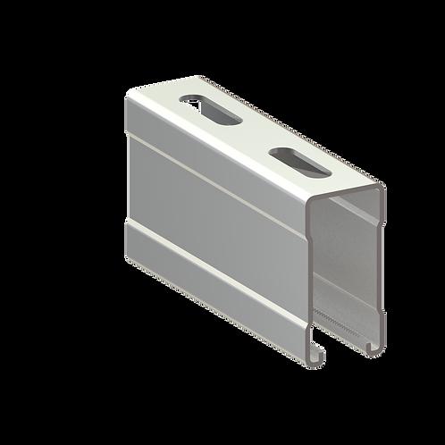 Profil montaj tip MI (41x82x2.5mm) L=2000mm